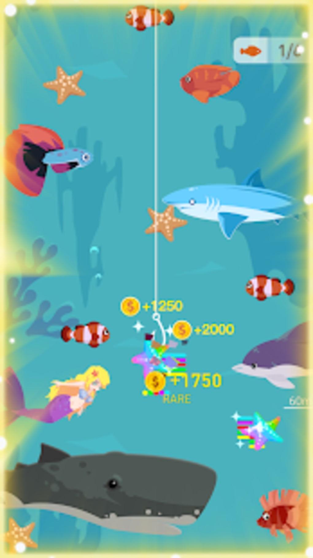 Happy Fishing - Catch Fish and Treasures for Android - Download