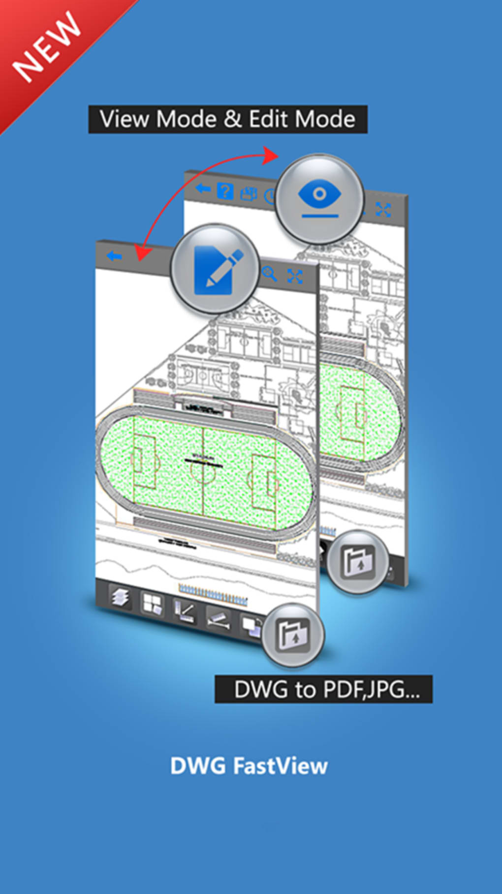 Dwg fastview cad drawing and viewer for iphone download for Blueprint sketch app