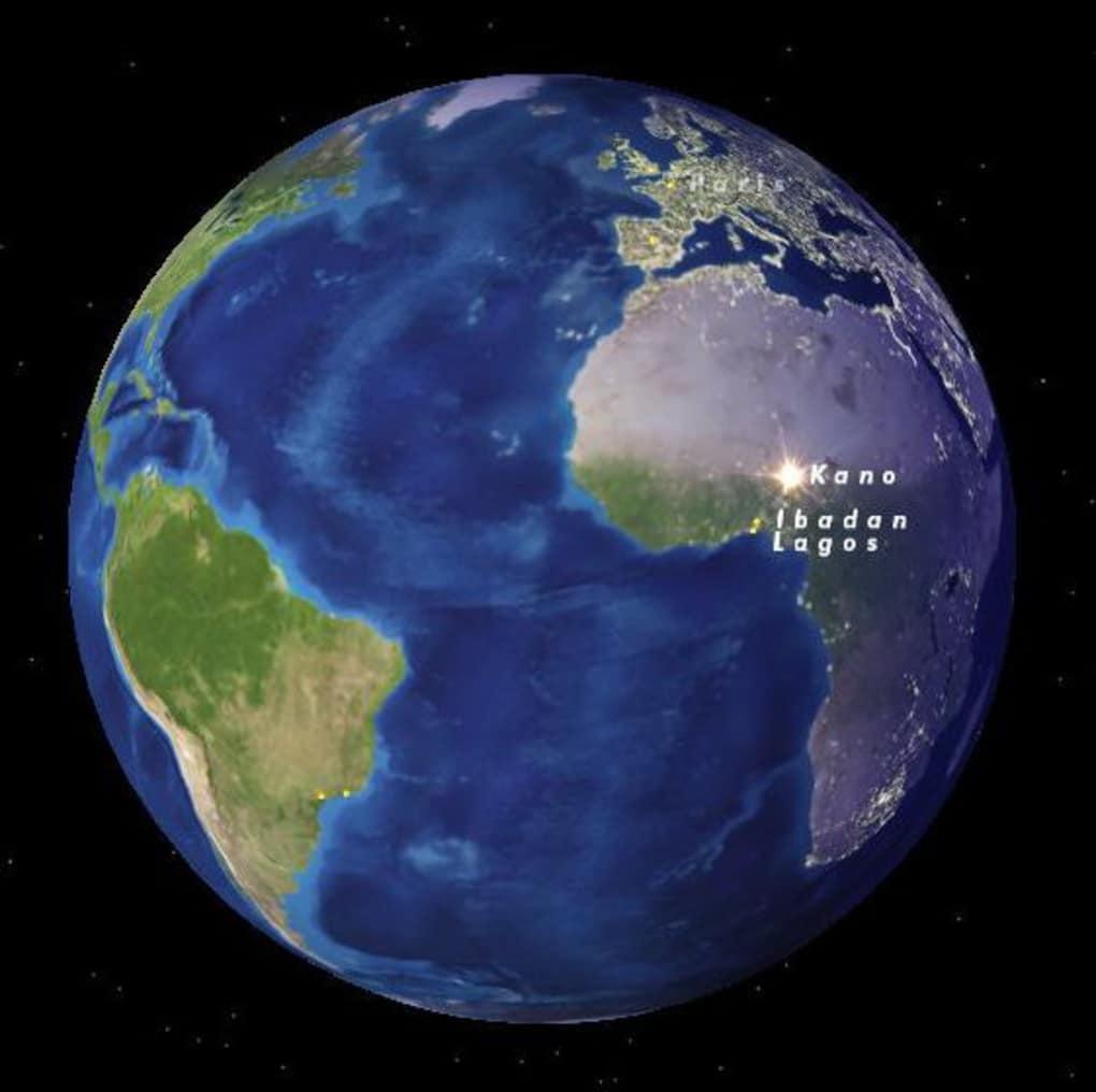 Google Earth Wallpaper: Cities Of Earth Free 3D Screensaver