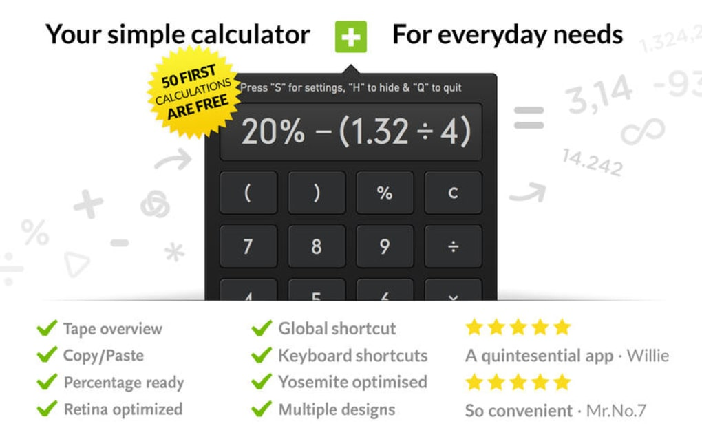 Calculator • Free