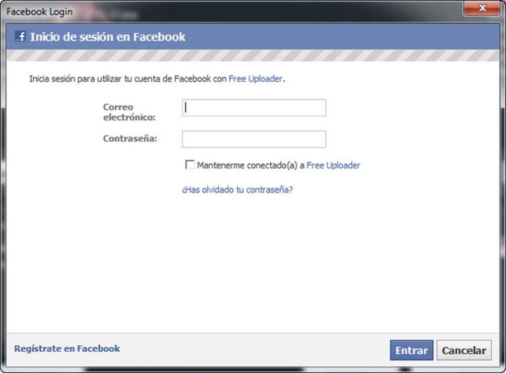 Free Uploader for Facebook - Download