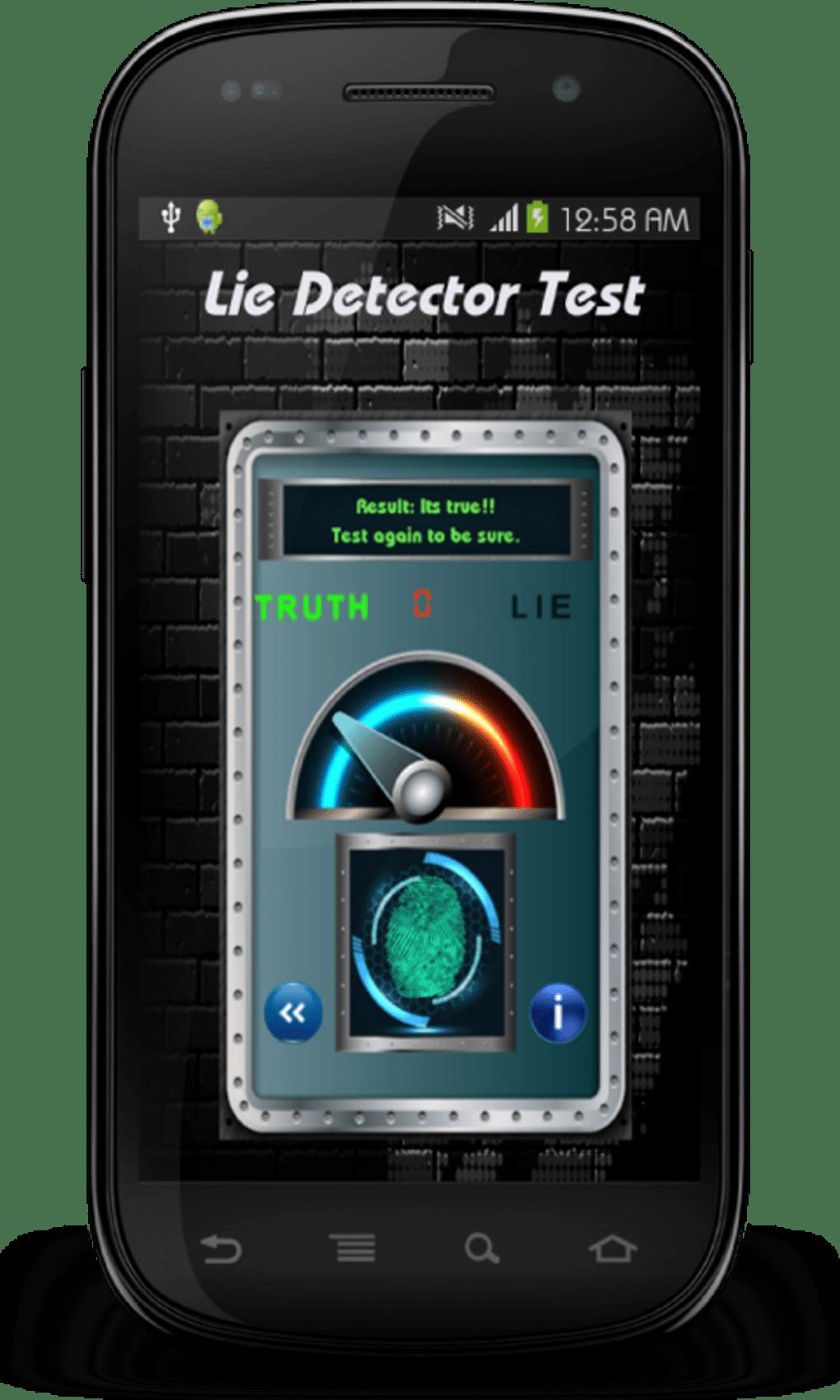 lie detector test prank for android download. Black Bedroom Furniture Sets. Home Design Ideas