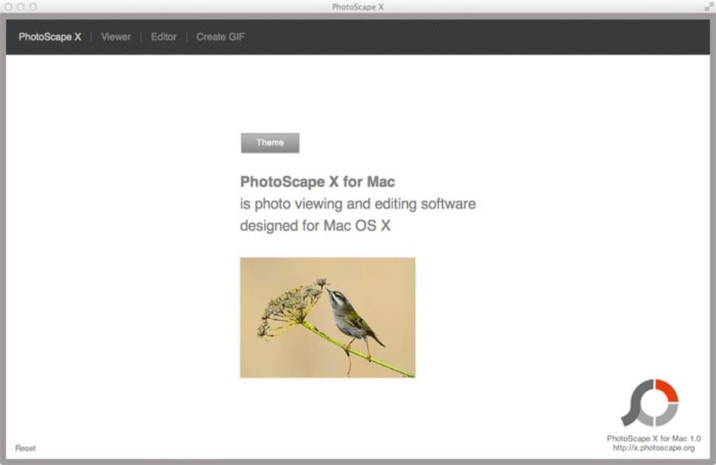 photoscape pour macbook
