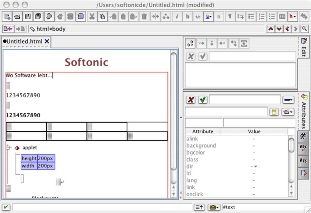 XMLmind XML Editor für Mac - Download