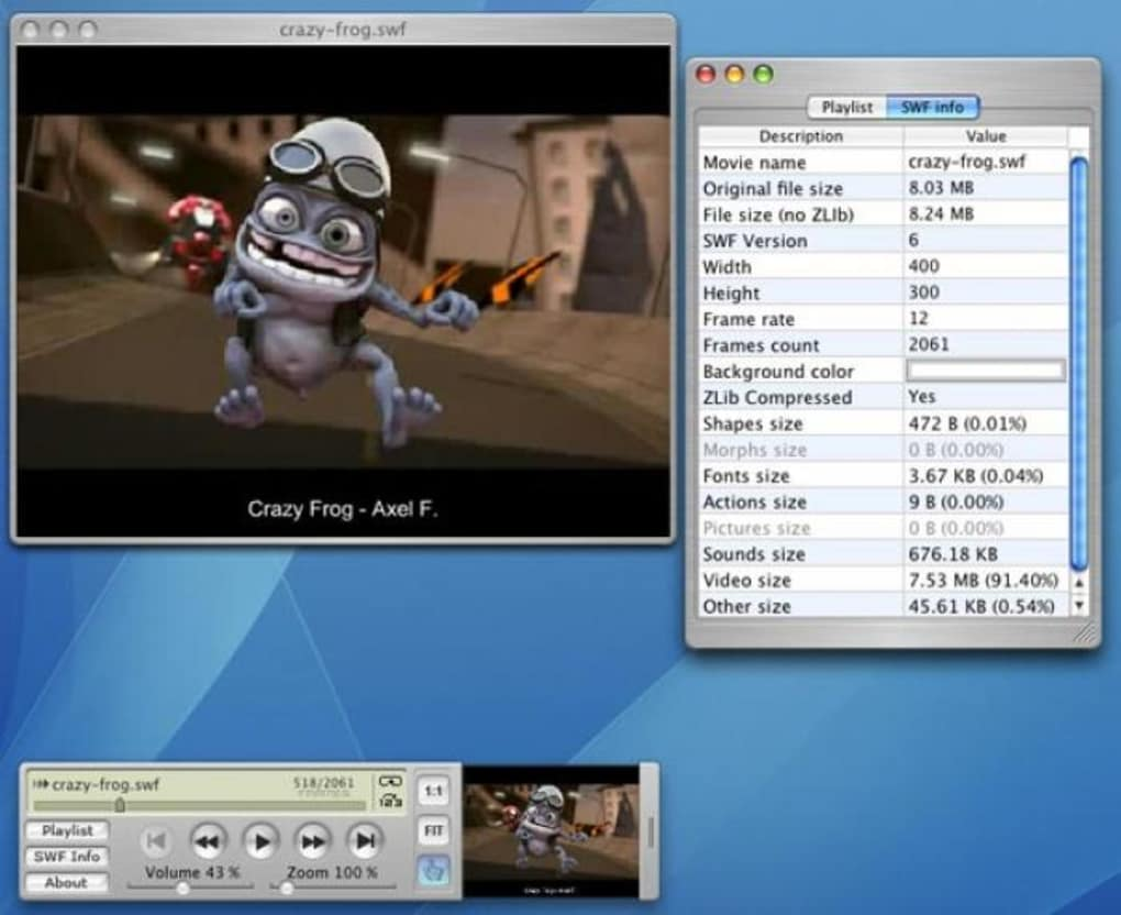 Swf Movie Player For Mac