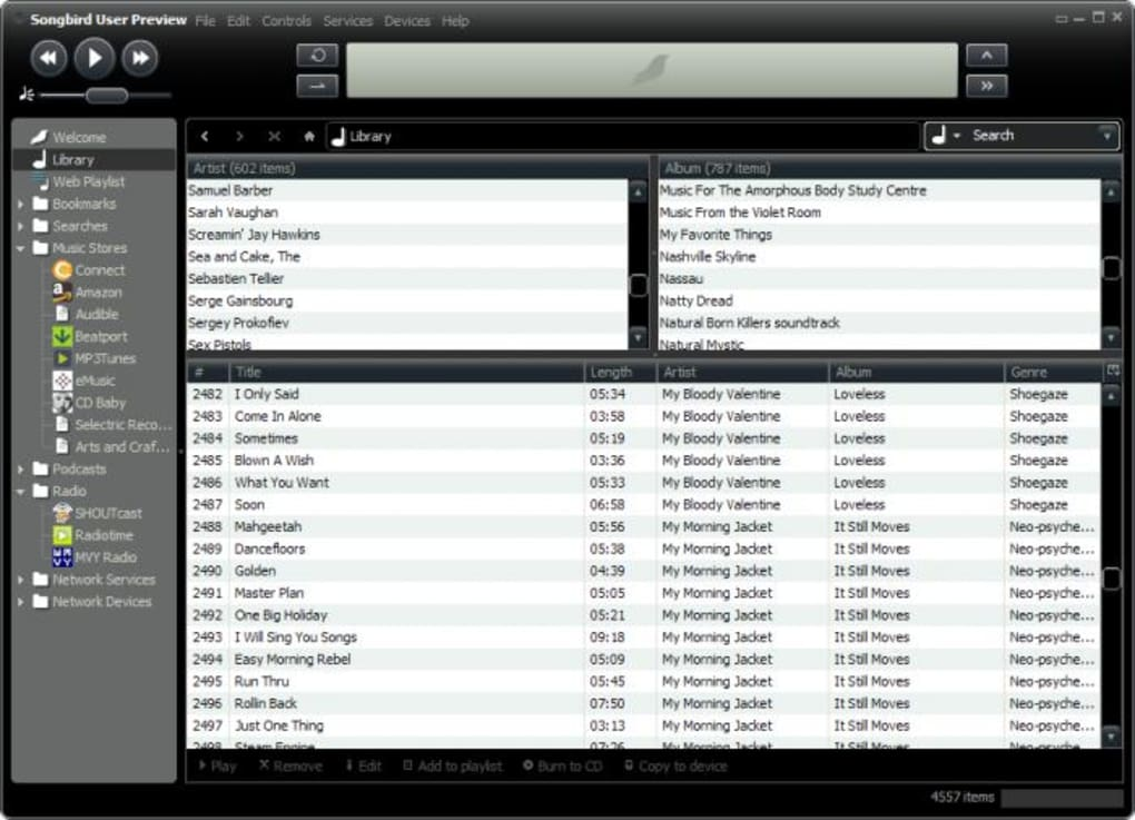 Powerful audio player and manager with support for plug-ins