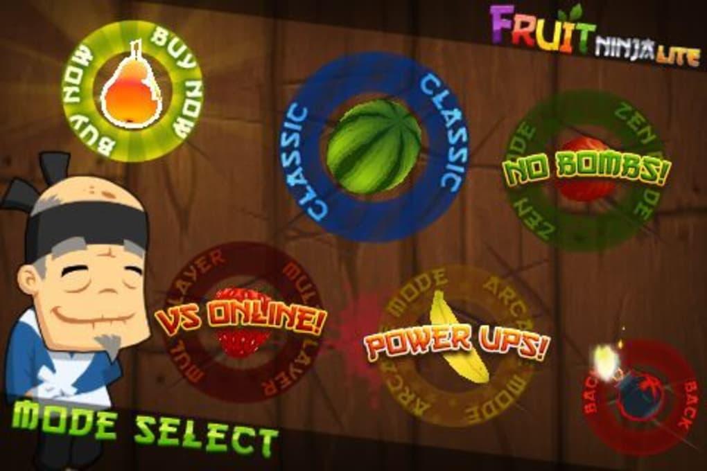 fruit ninja per cellulare