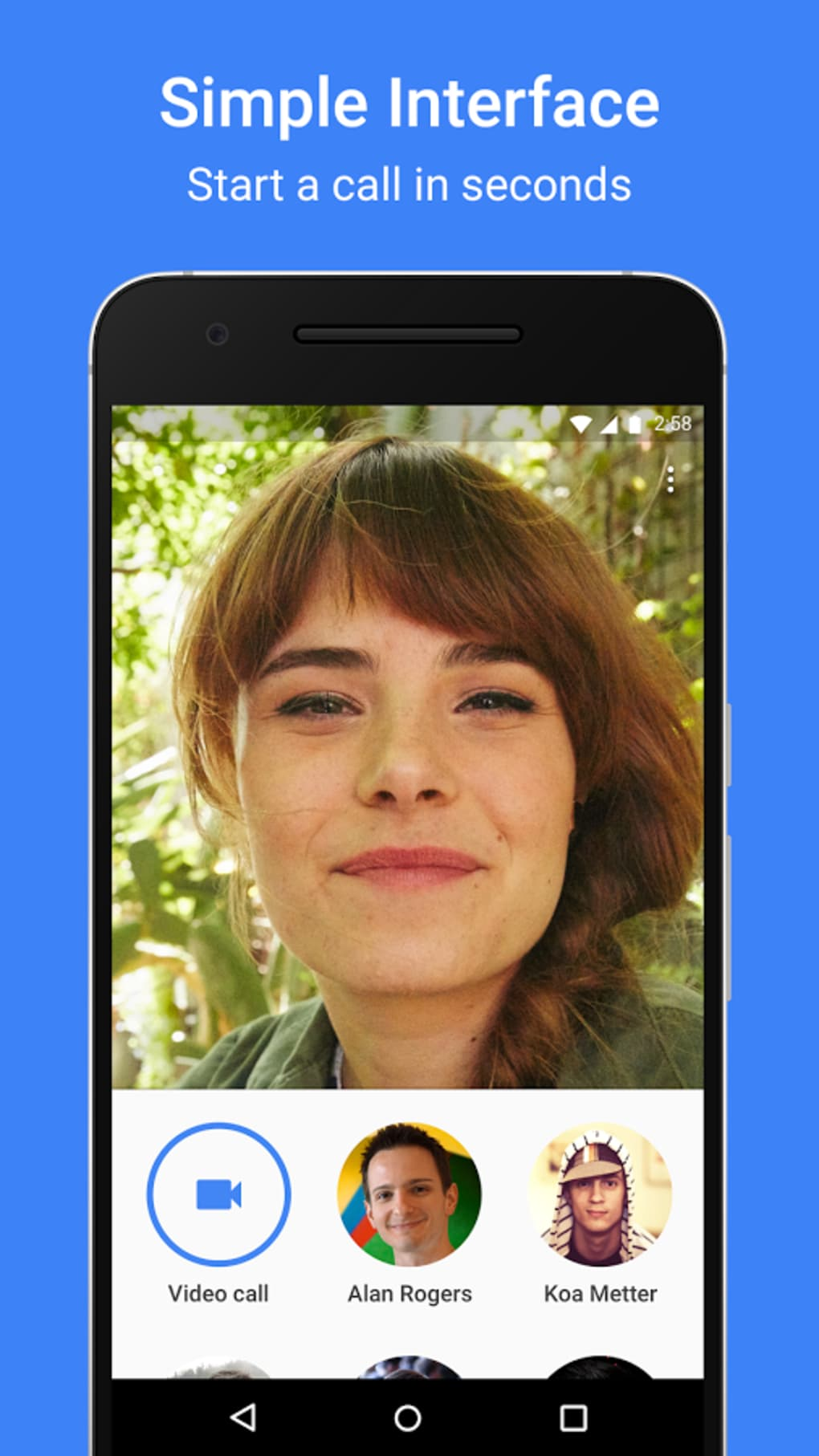 google duo without phone number