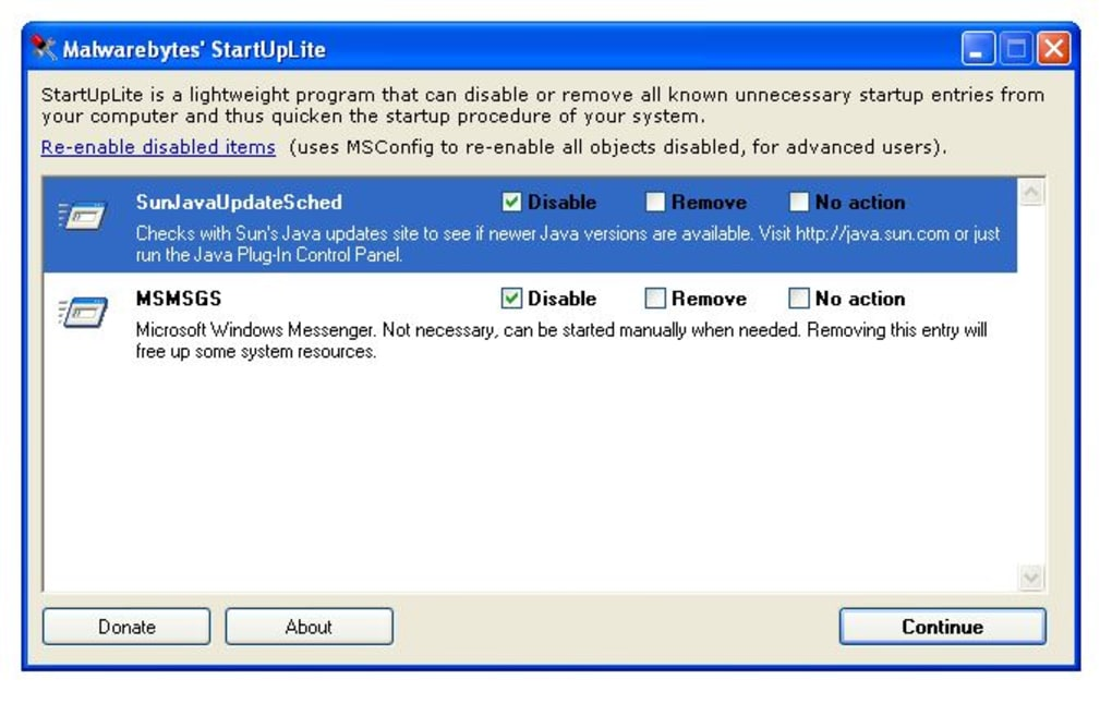 StartUpLite - Download