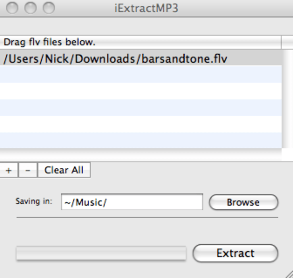 iExtractMP3 for Mac - Download