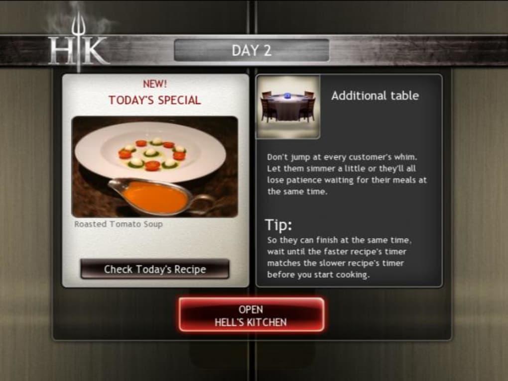 Hells Kitchen Game Windows