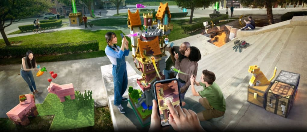 Minecraft Earth APK for Android Download