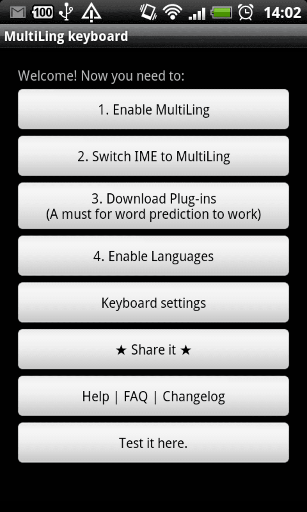 MultiLing Keyboard for Android - Download