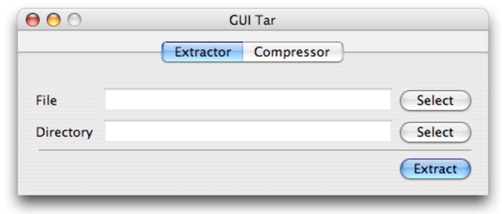 GUI Tar for Mac - Download