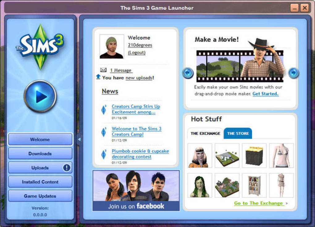 download the sims 3 java android