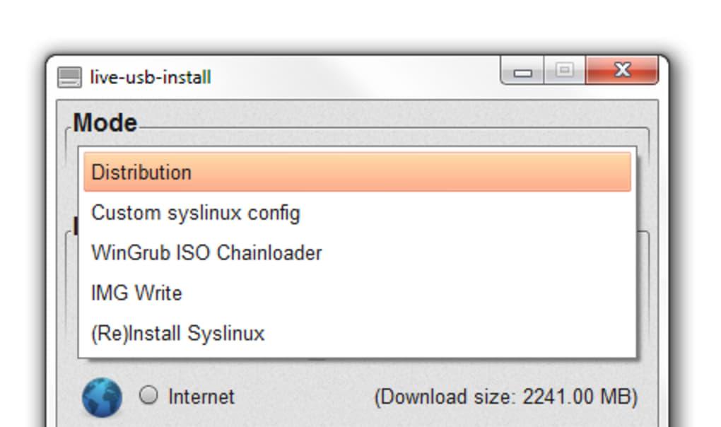 LiveUSB Install - Descargar