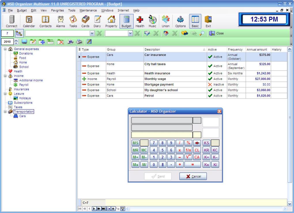 MSD Organizer Multiuser - Download
