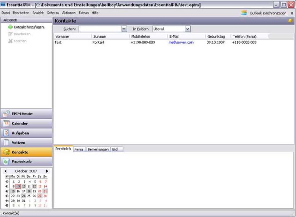 Essentialpim Pro Download