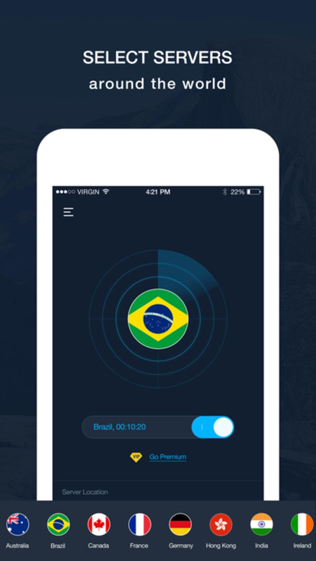 Hexatech VPN - Best VPN Proxy for iPhone - Download