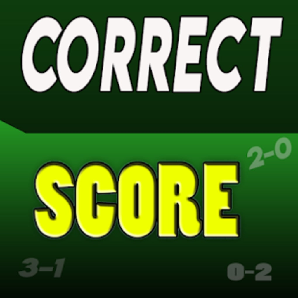 Correct Score Betting Tips for Android - Download