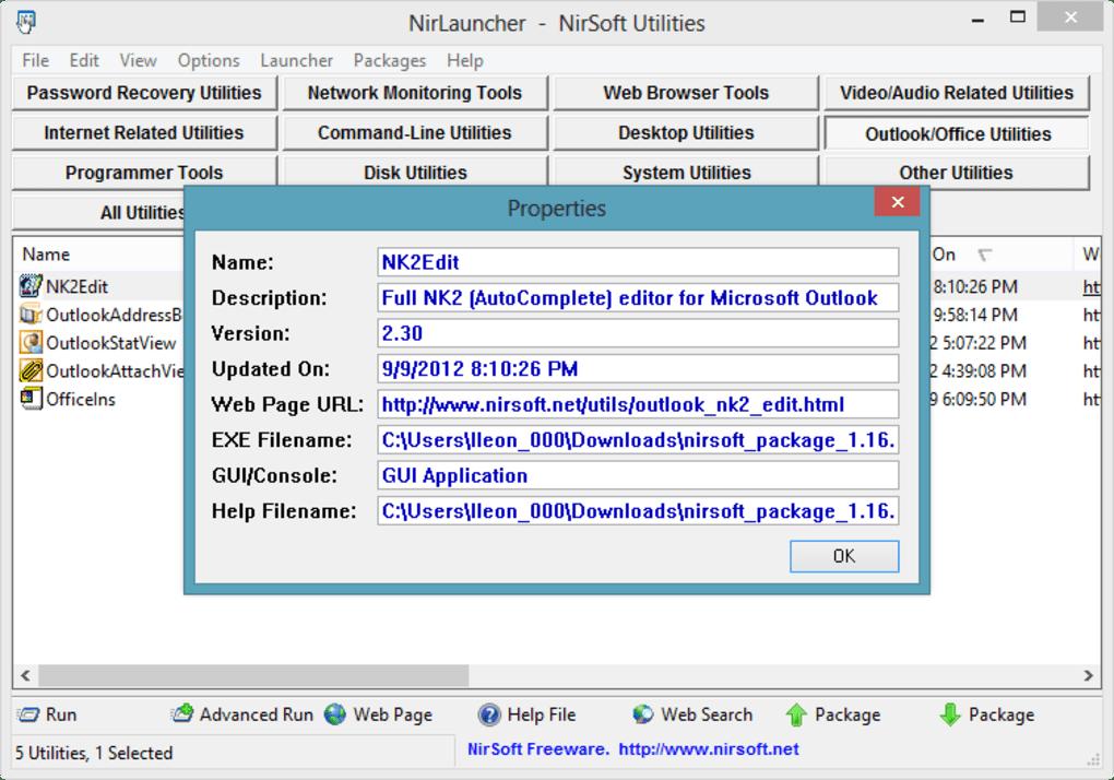 NirLauncher - Download