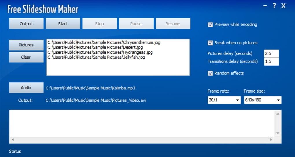 Free Slideshow Maker - Download