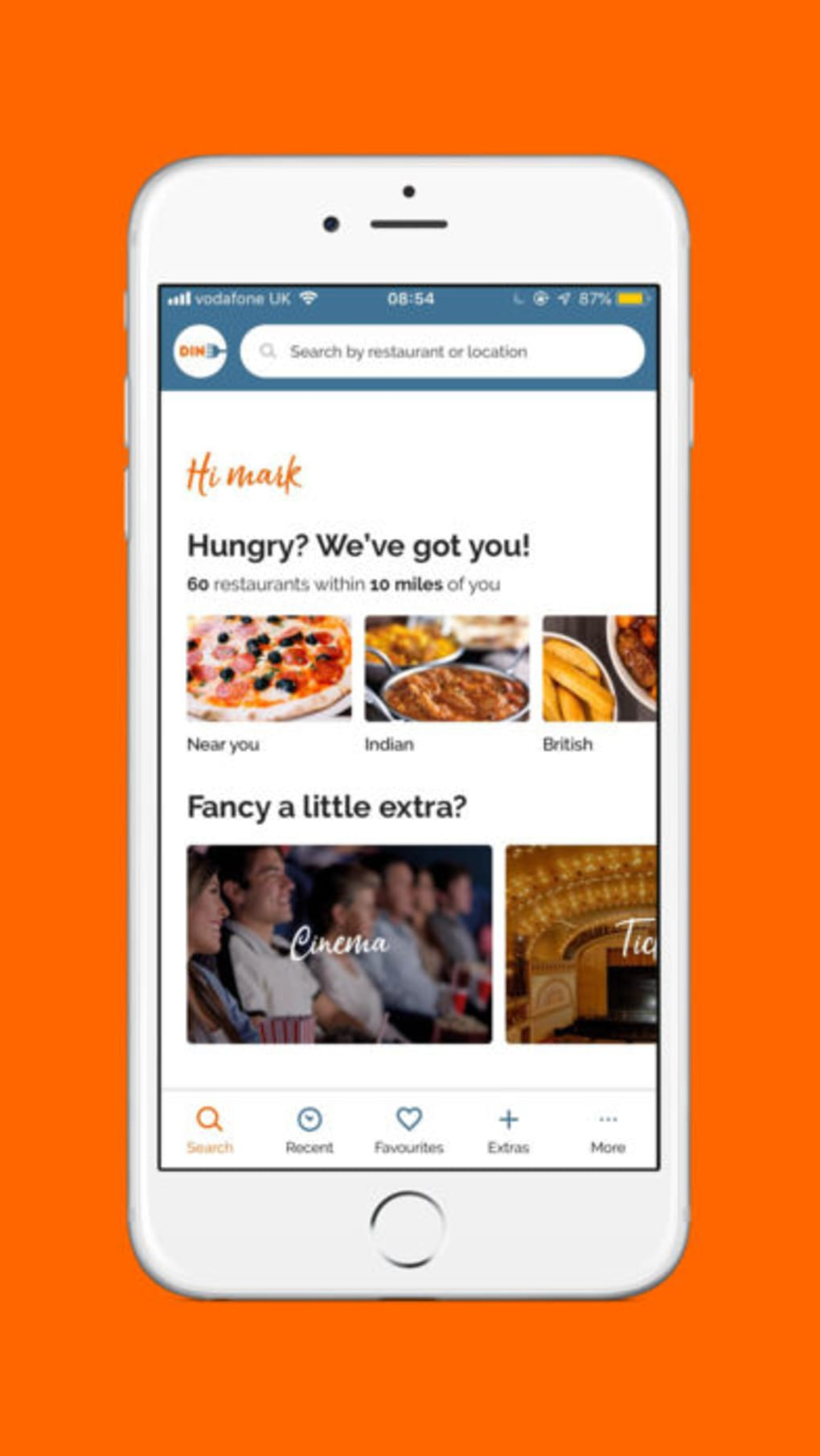 Dine for iPhone - Download