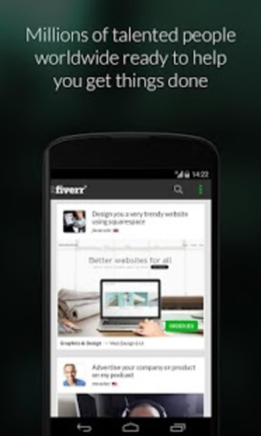 Fiverr for Android - Download