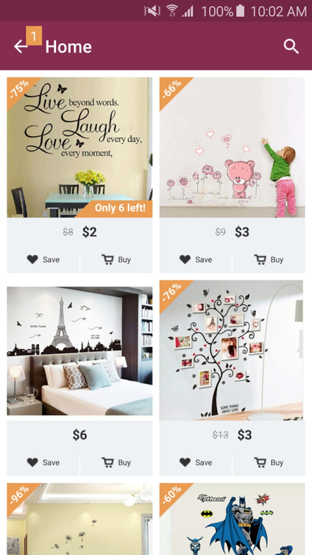 Charming Home E Design Decor Shopping Part - 7: ... Belli E Originali, Ma Puoi Persino Acquistarli Dallu0027applicazione Stessa  In Pochi Passi. Visualizza Descrizione Completa. Home - Design U0026 Decor  Shopping