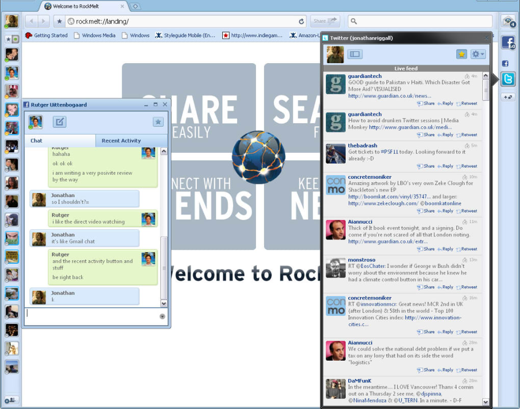 Opinions about RockMelt