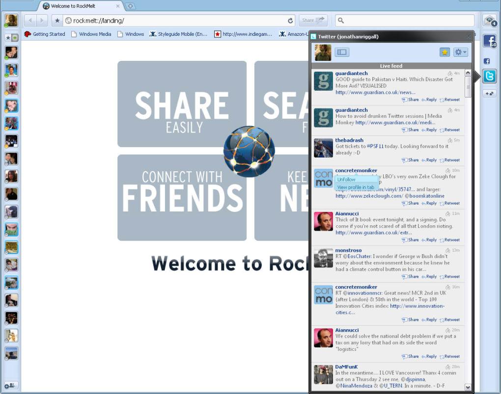 latest rockmelt offline installer