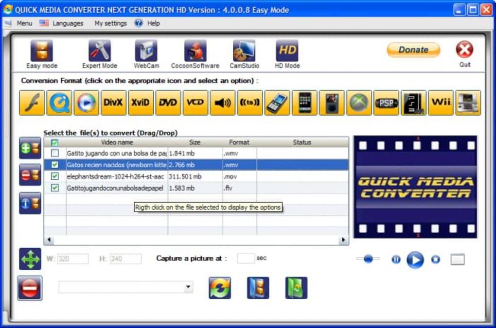 qmc quick media converter gratuit