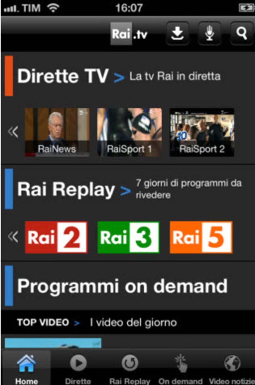 app per scaricare video da rai.tv