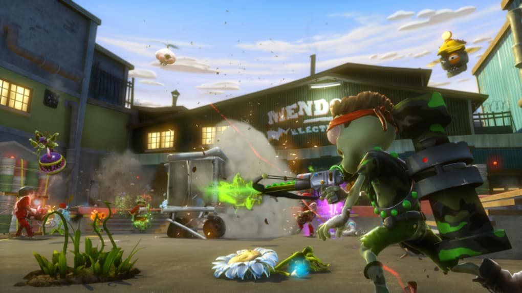 Plants Vs. Zombies: Garden Warfare. PROS