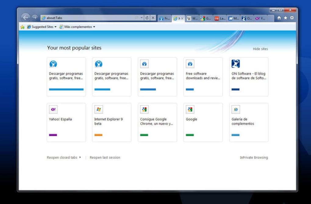 Internet Explorer 9 64-bit - Download