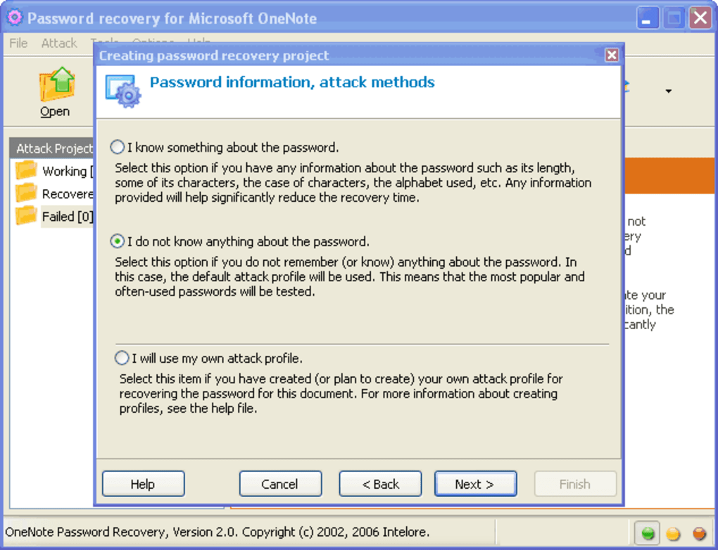 OneNote Password Recovery - Download