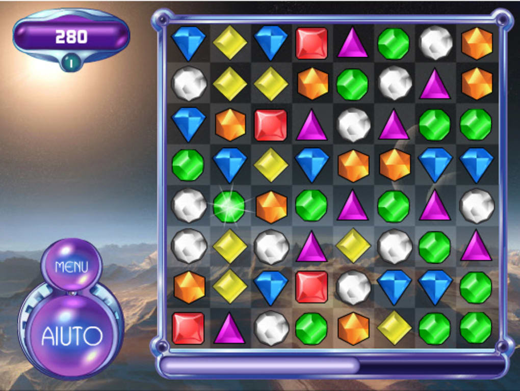 Giochi di bejeweled gratis on line
