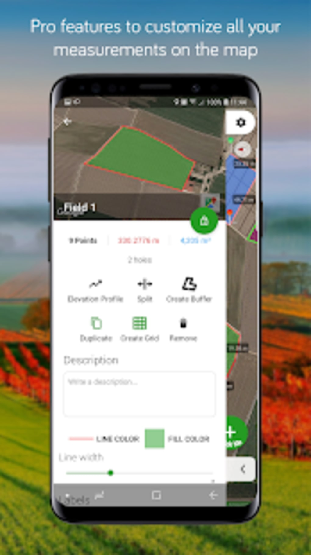 Measure Map for Android - Download