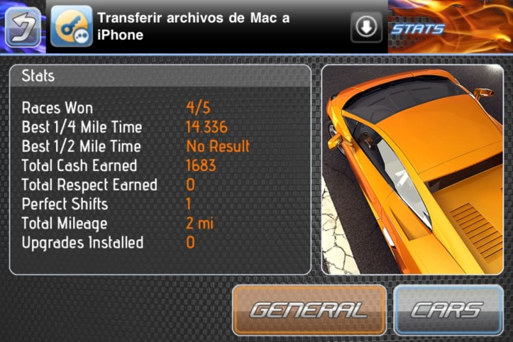 Drag Racing Free for iPhone - Download