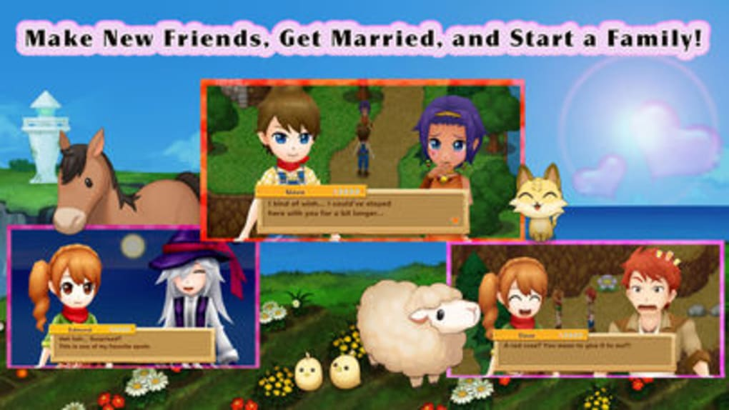Harvest Moon: Light of Hope for iPhone - Download