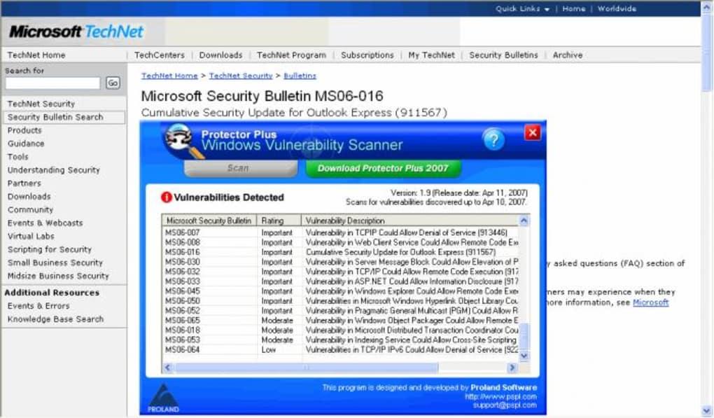 Windows Vulnerability Scanner (Windows) - Download