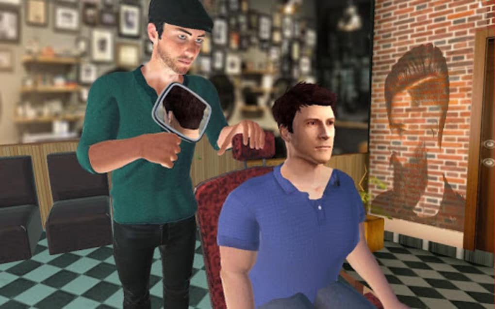 Barber Shop Hair Salon Cut Hair Cutting Games 3d For Android Download