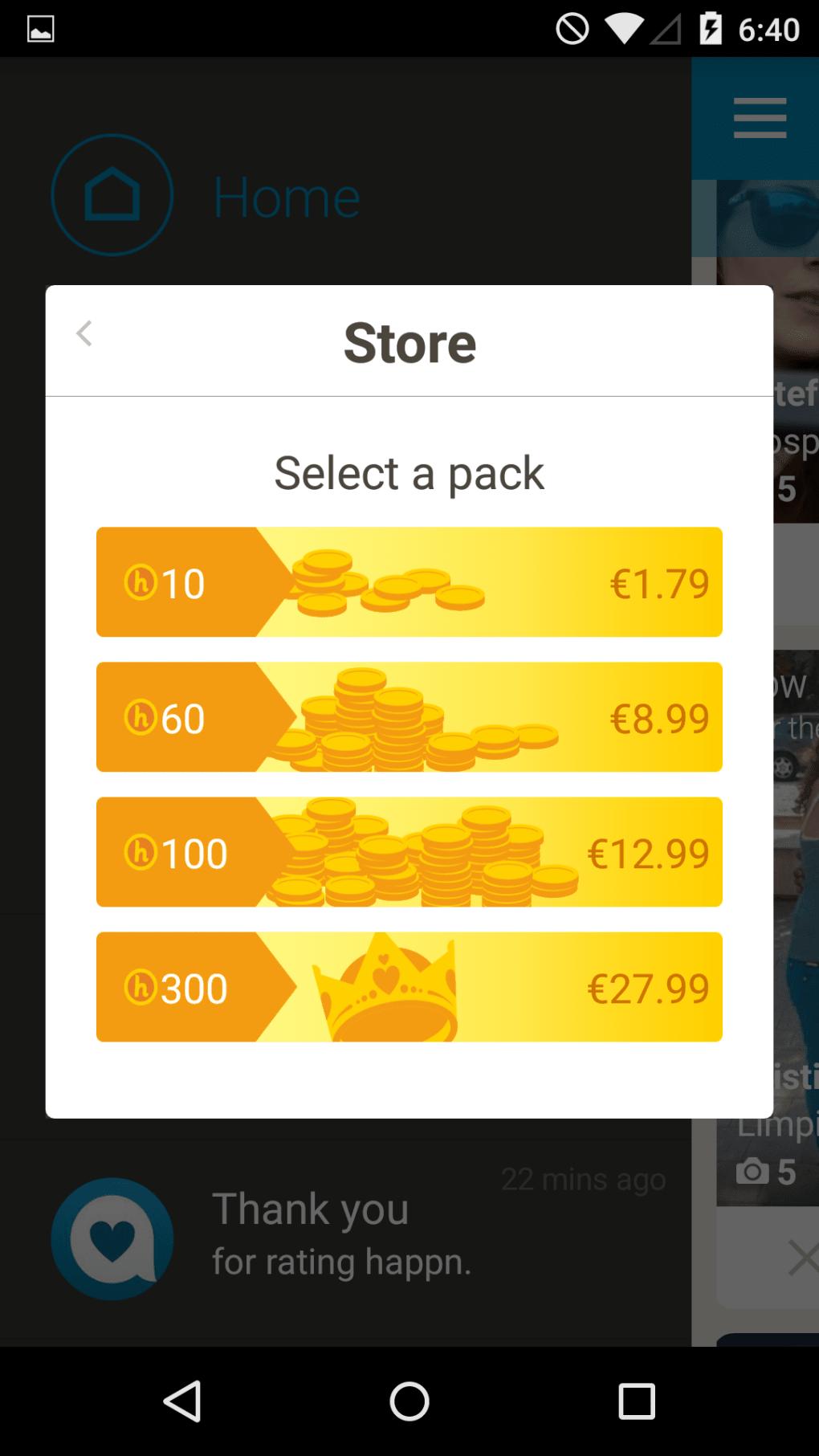 Happn para Android - Descargar