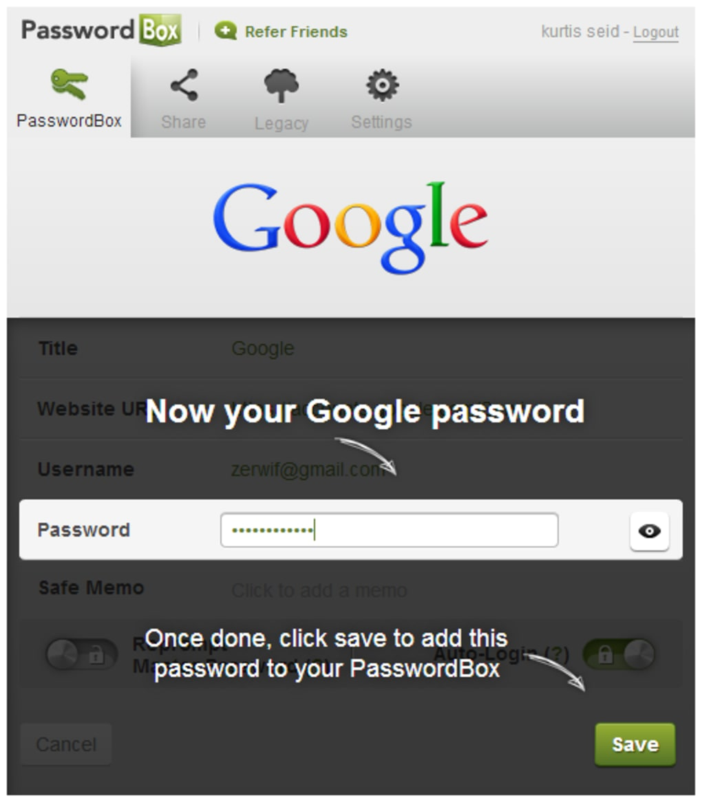 PasswordBox - Download