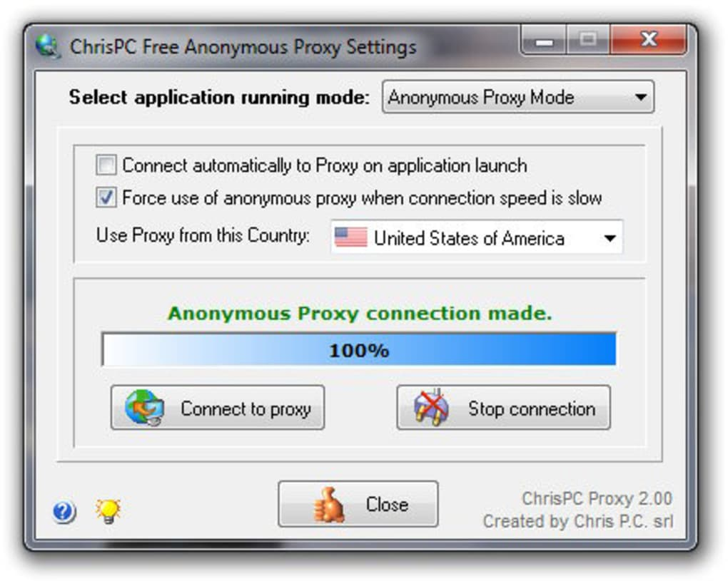 chrispc free anonymous proxy settings