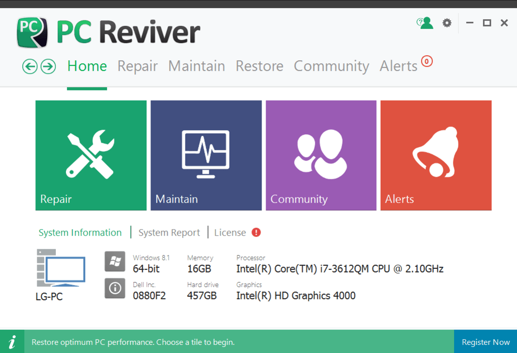 download pc reviver free full version