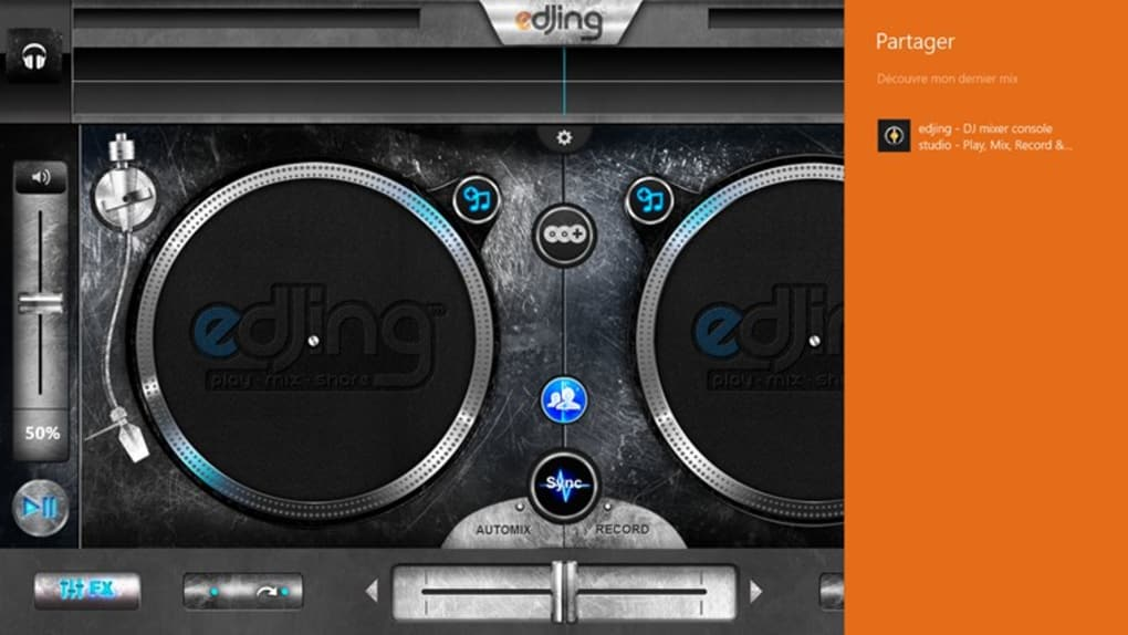 edjing DJ studio music mixer para Windows 10 (Windows) - Descargar