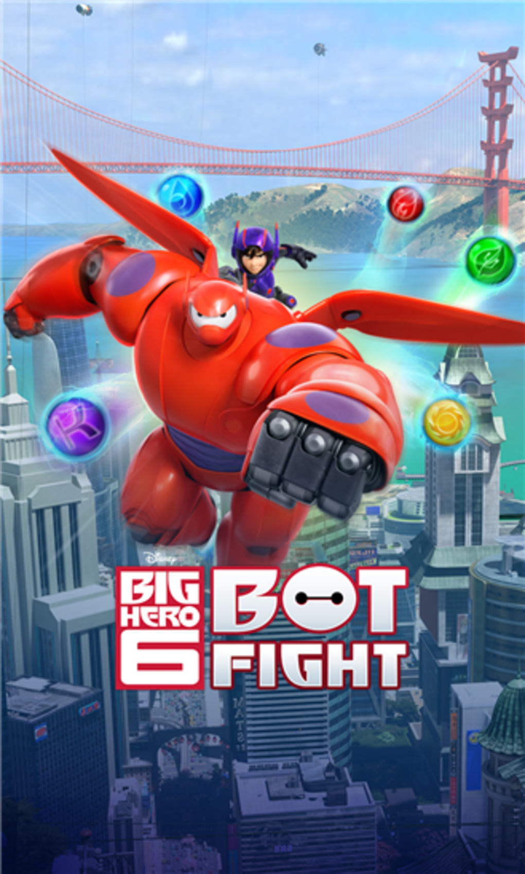 Big Hero 6 Bot Fight for iPhone - Download
