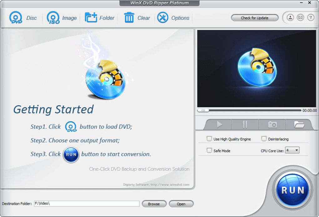 WinX DVD Ripper Platinum - Download