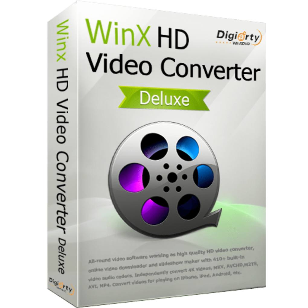 WinX HD Video Converter Deluxe Download (  Latest) for PC